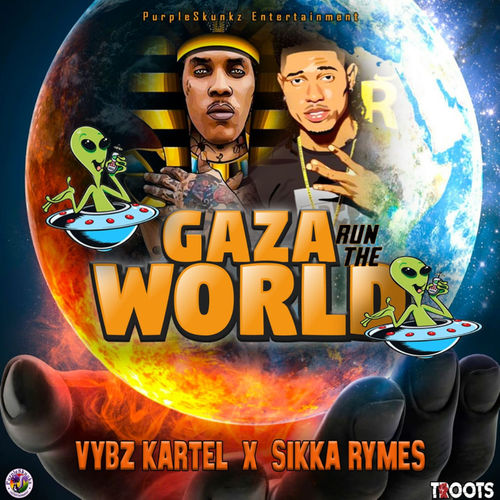 Vybz Kartel Ft. Sikka Rymes Gaza Run The World mp3 download