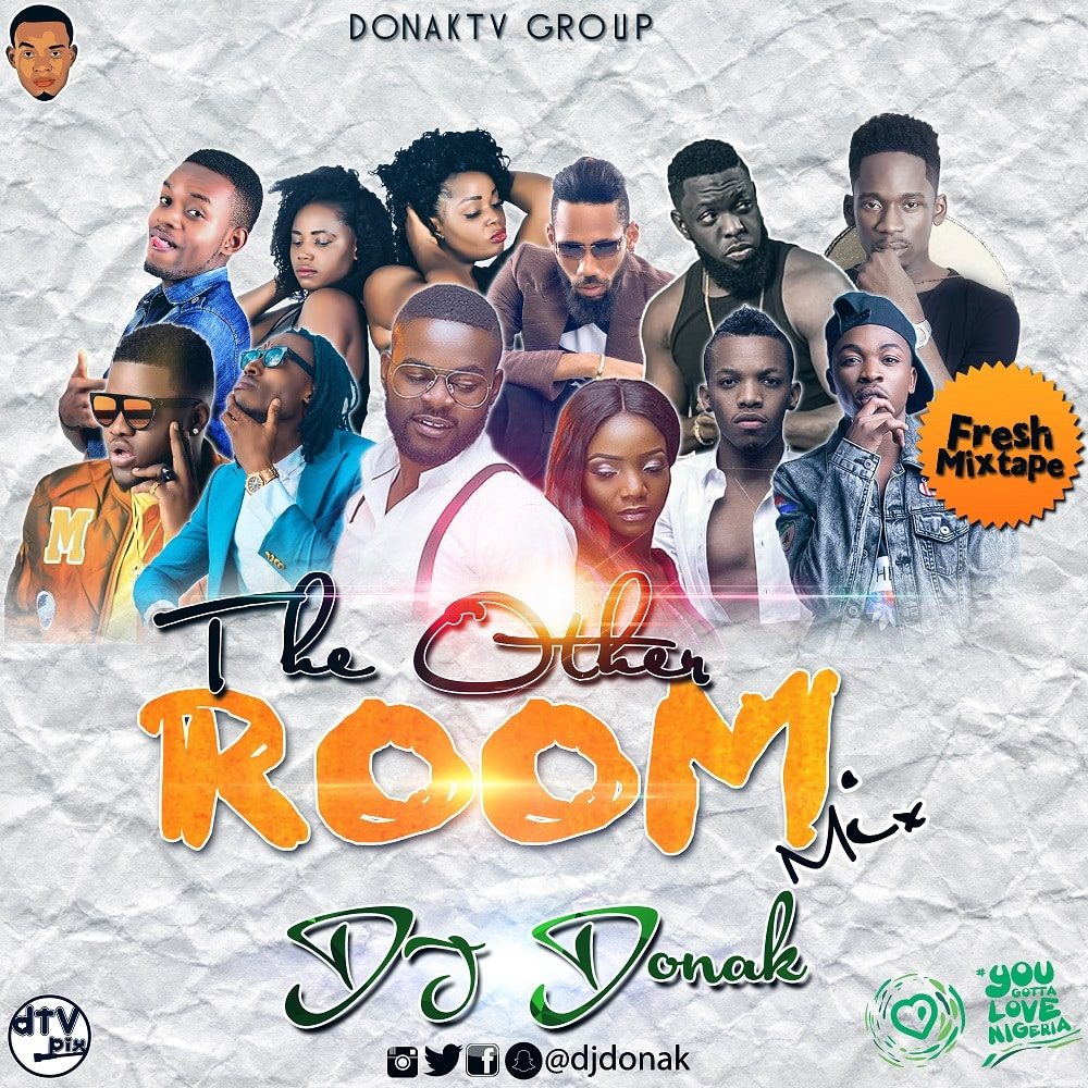 MIXTAPE: DJ Donak  The Other Room Mix mp3 download