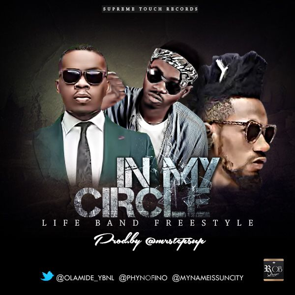 Olamide In My Circle (Live Band Freestyle) ft. Phyno & SunCity mp3 download