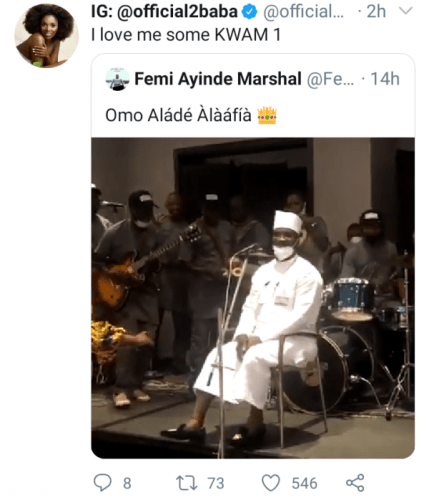 2Baba Unravel His Love For Fuji Musician, K1 De Ultimate mp3 download