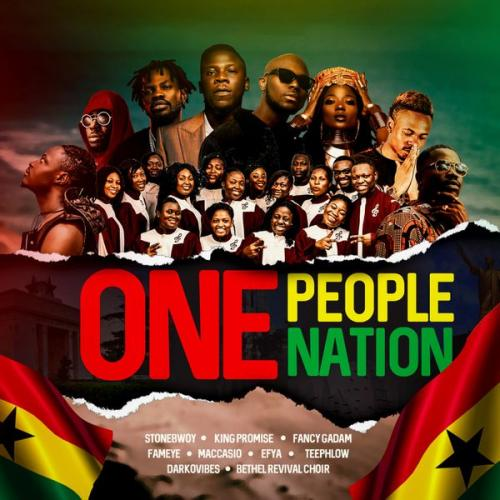 Stonebwoy One People, One Nation Ft. King Promise, Efya, Darkovibes, Fancy Gadam, Fameye, Maccasio mp3 download