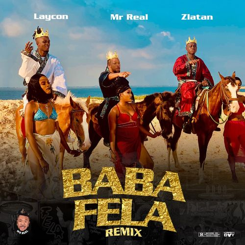 Mr Real Ft. Laycon, Zlatan  Baba Fela (Remix) mp3 download